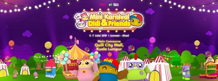 Didi and Friends Mini Carnival, Quill City Mall
