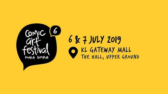Comic Art Festival Kuala Lumpur 6