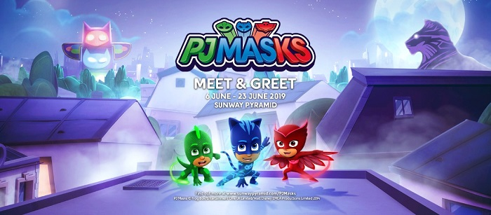 PJ Masks - Meet & Greet