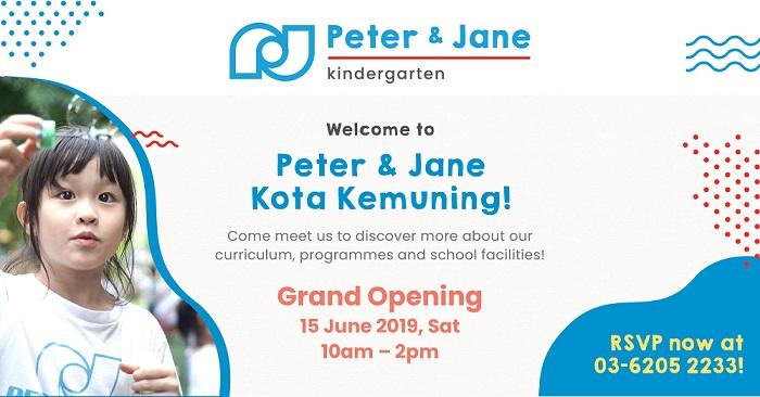 Peter & Jane Kindergarten Grand Opening