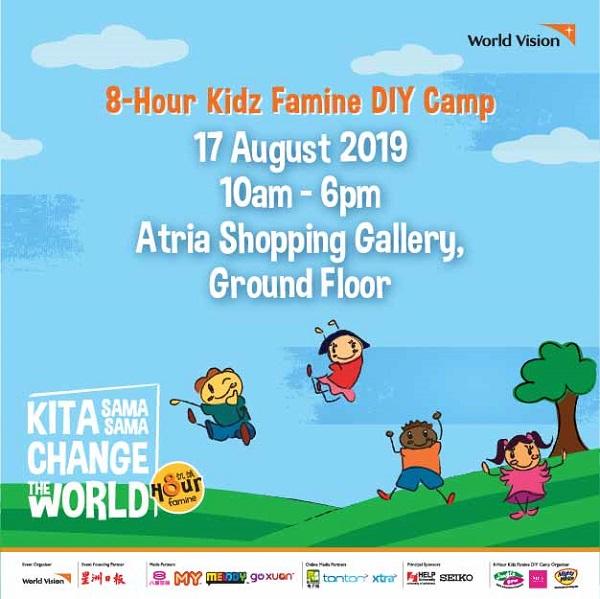 8-Hour Kidz Famine DIY Camp