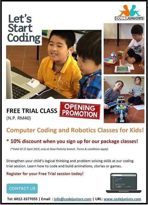 Let's Start Coding @ Code Juniors