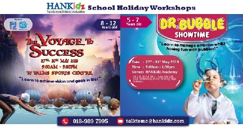 HANKidz - May 2019 Boot Camp & Holiday Workshops