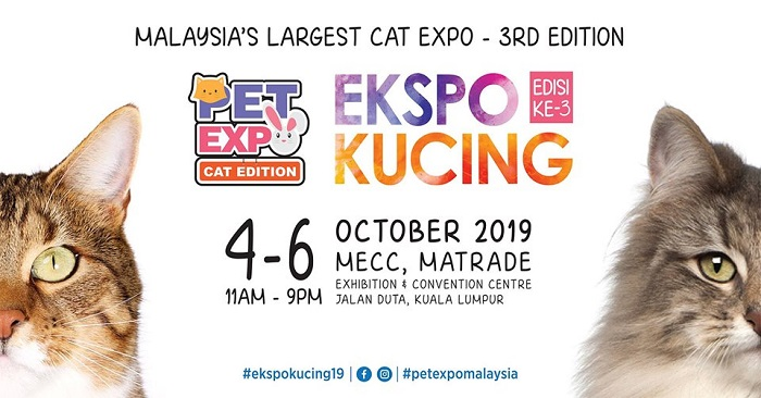 Cat Expo 2019 - Pet Expo Cat Edition @ MATRADE Exhibition and Convention Centre
