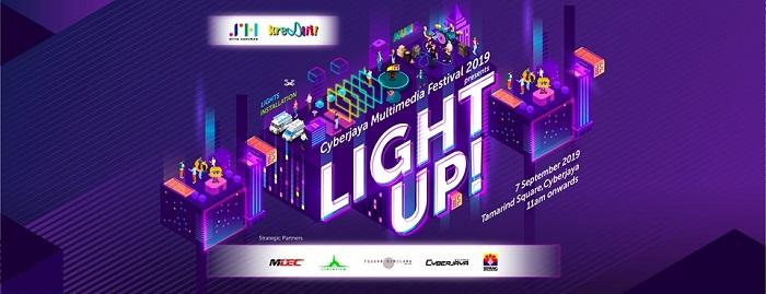 Light Up! - Cyberjaya Multimedia Festival 2019