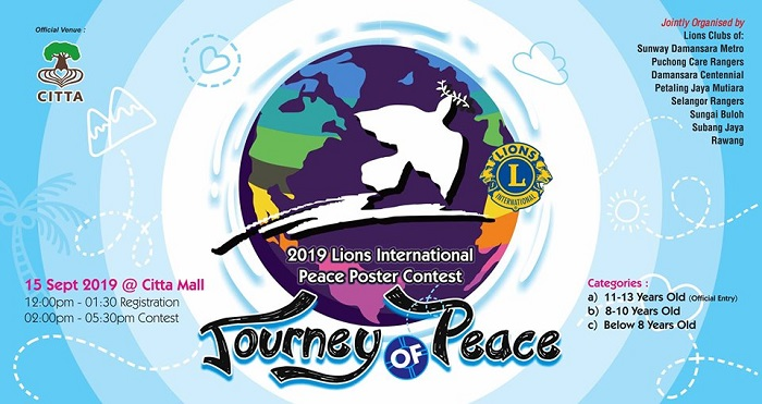 Journey of Peace; Children Poster Contest 2019