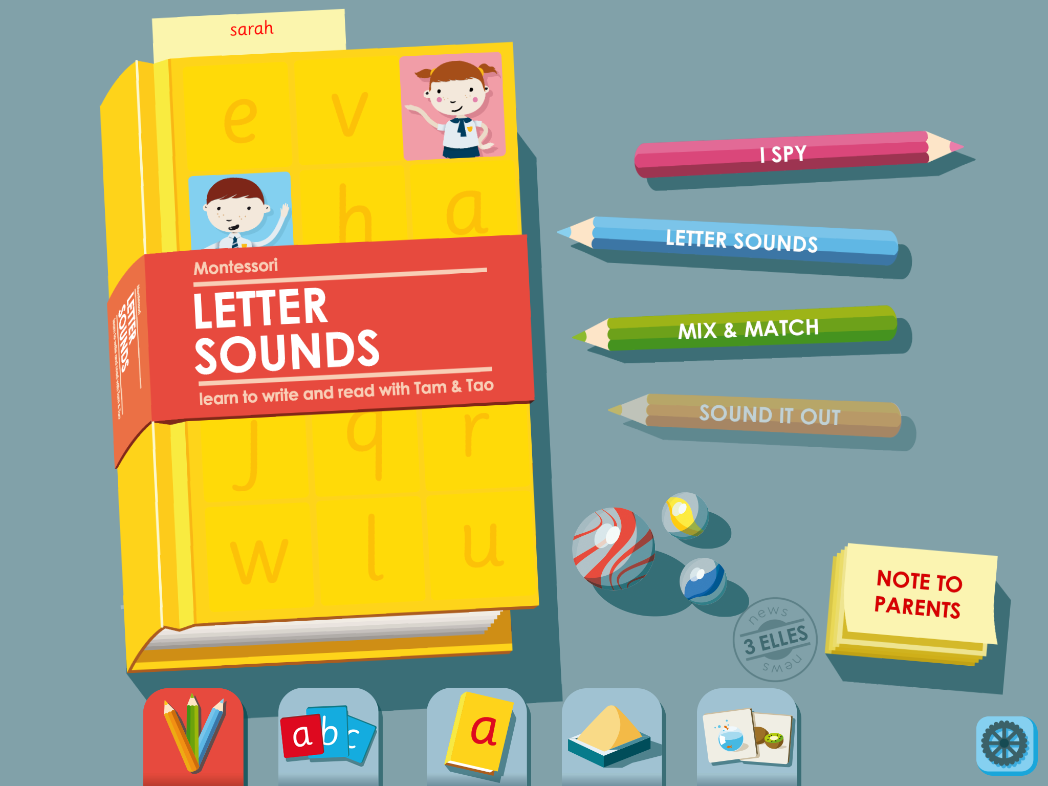 Montessori Letter Sounds
