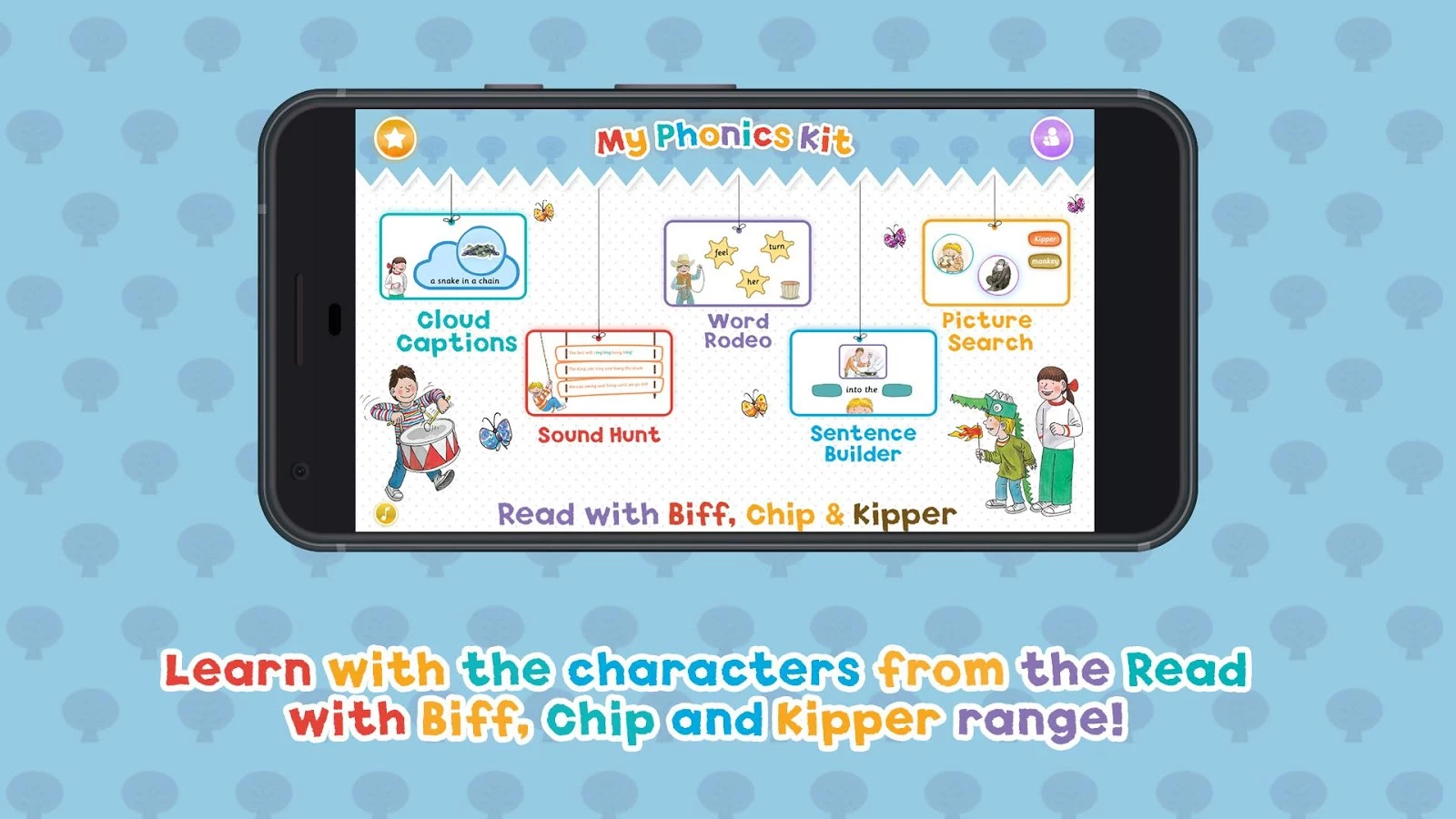 My Phonics Kit - Biff, Chip & Kipper