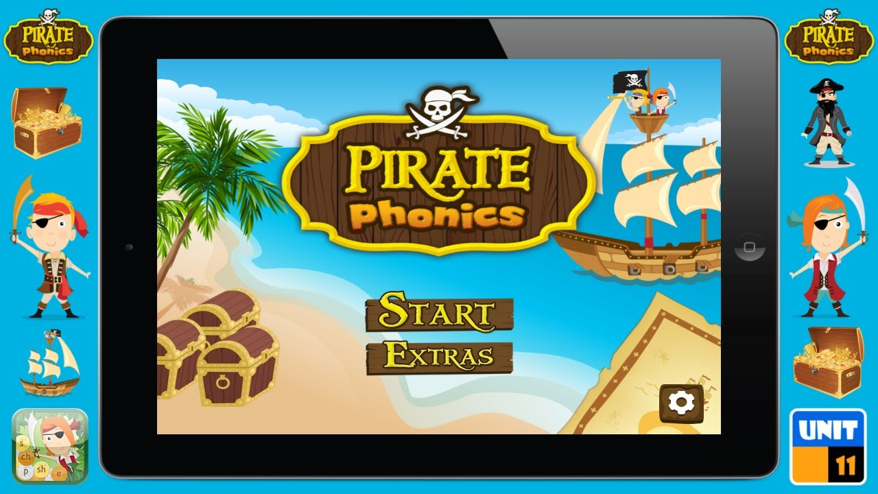 Pirate Phonics 1: Fun Learning