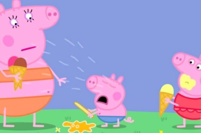 is peppa pig bad