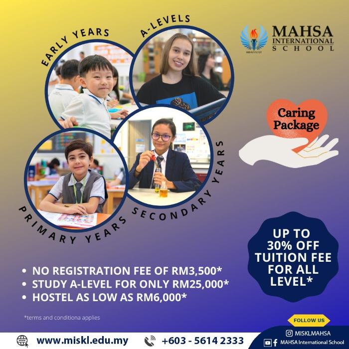 MAHSA International School, Bandar Saujana Putra, Jenjarom