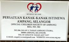 Special Children Society of Ampang - SCSOA