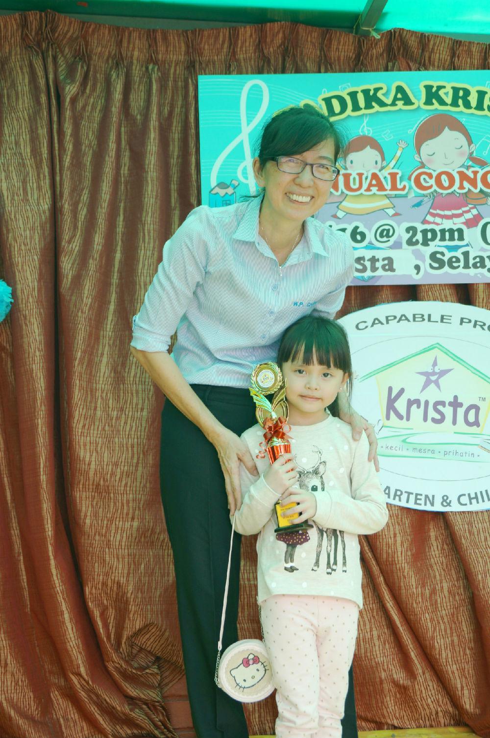 Krista (Tadika Manjaku Bistari), Selayang Jaya