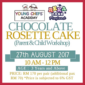 Parent and Child Baking Workshop at Young Chefs Academy