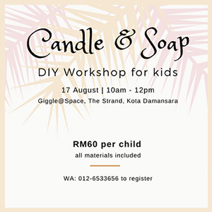 Candle & Soap Making Workshop at Giggle@Space