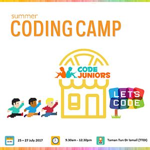 Summer Coding Camp at CodeJuniors