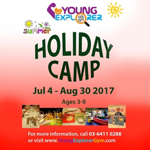 Young Explorer Holiday Camp