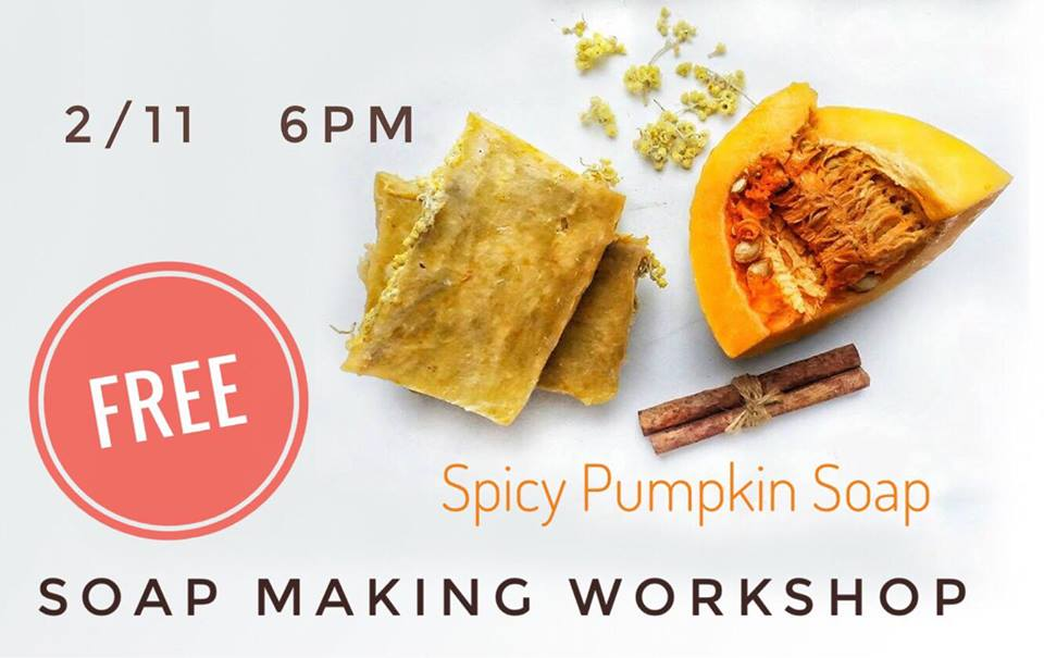 Free Soap Making Workshop