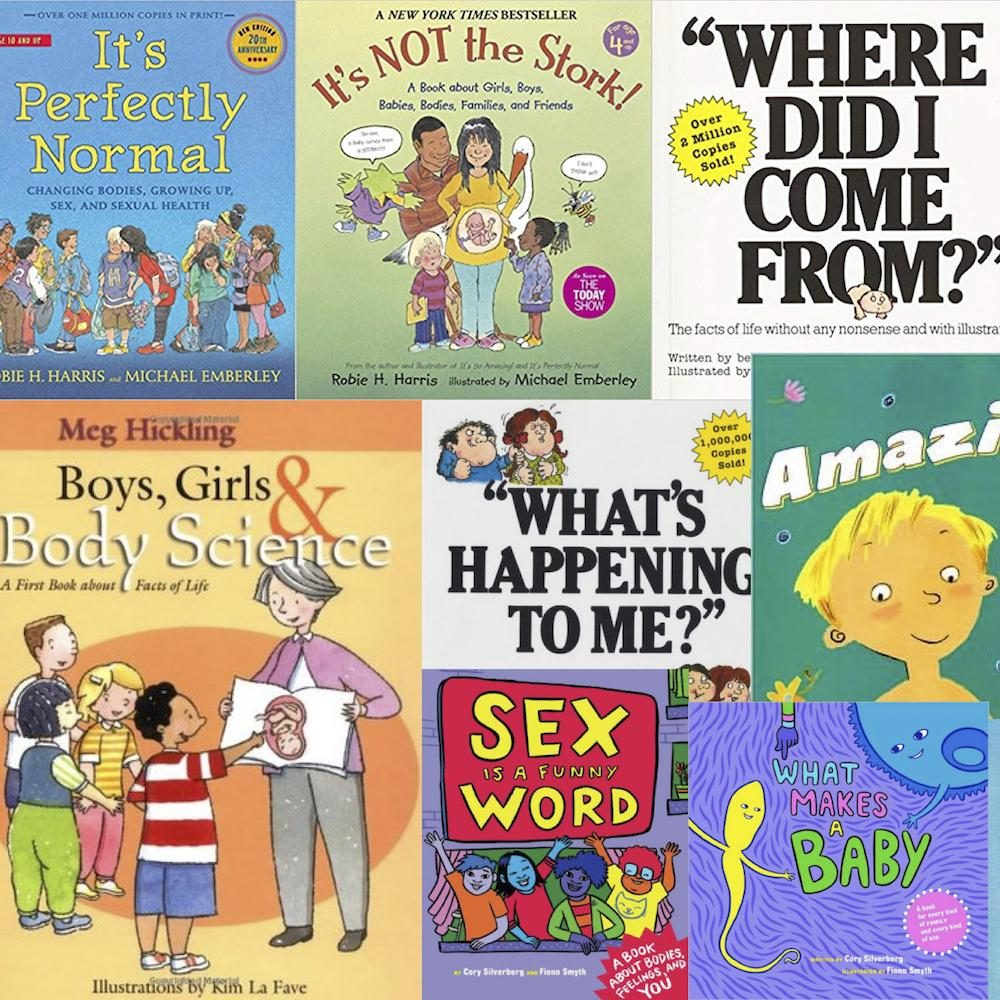 10 Sex Education Books For Kids of All Ages - Kiddy123.com