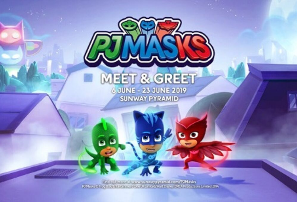PJ Masks Is On Their Way To Sunway Pyramid This School Holidays