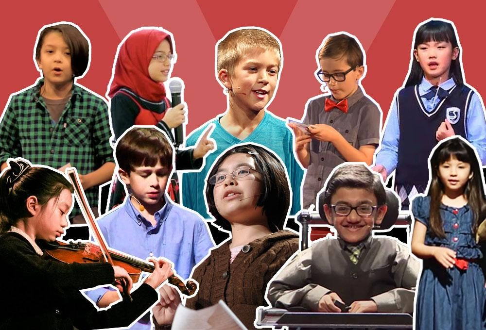 10 Inspiring TED Talks by Kids, for Kids