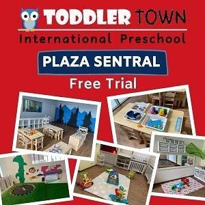 FREE Trial @ Toddler Town International Preschool, Plaza Sentral