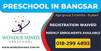 Wonder Minds Preschool, Bangsar