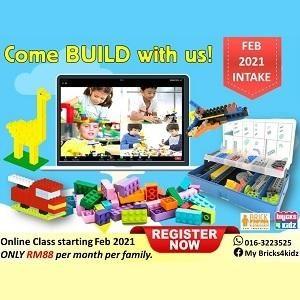 February Intake 2021 @ My Bricks4Kidz, Damansara Perdana (Petaling Jaya)