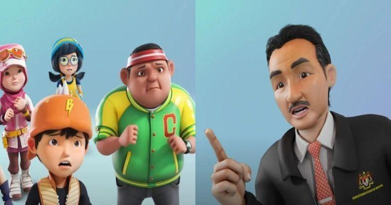Tan Sri Noor Hisham Appears In BoboiBoy To Teach Ways To Fight COVID