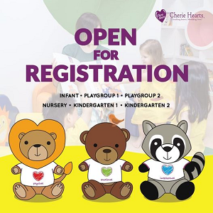 Open for Registration - Cherie Hearts International Preschool, Kota Kemuning