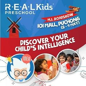 REAL Kids Roadshow (IOI Mall, Puchong)