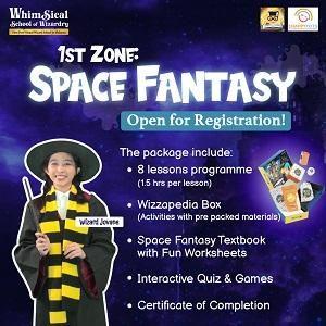 Space Fantasy @ Happy Tots Preschool, Bukit Jalil