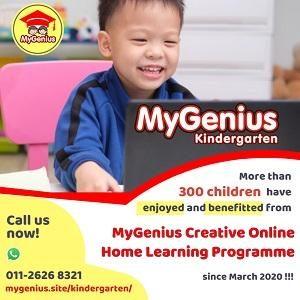MyGenius Kindergarten Creative Online Home Learning Programme @ MyGenius Kindergarten, Eco Sanctuary