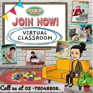 Virtual Classroom @ Tadika Sri Nobel, Kelana Jaya