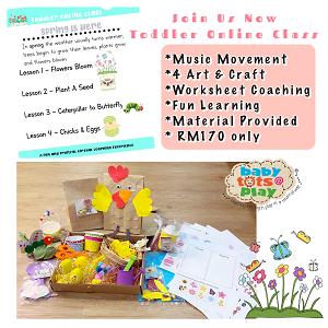 Toddler Online Class @ Babytots@Play, Bandar Botanic