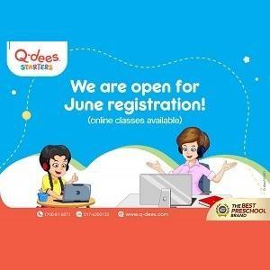 Online Classes - June Intake @ Q-dees Hillpark 2, Semenyih (Tadika Intelek Gemilang)