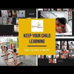 Online Class @ Happy Villa Kindergarten, Taman Bukit Indah, Johor Bahru