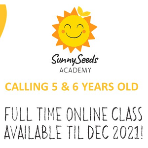 Online Program (5 & 6 years old) @ SunnySeeds Academy