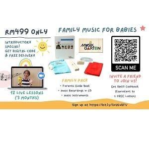 Online 3 month Babies Music Program (Musikgarten) @ Polka Dot Train Studio