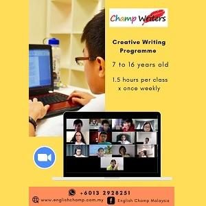 Creative Writing Programme @ English Champ, Petaling Jaya