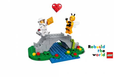 New LEGO® campaign shows how creative problem solving can reunite and Rebuild the World